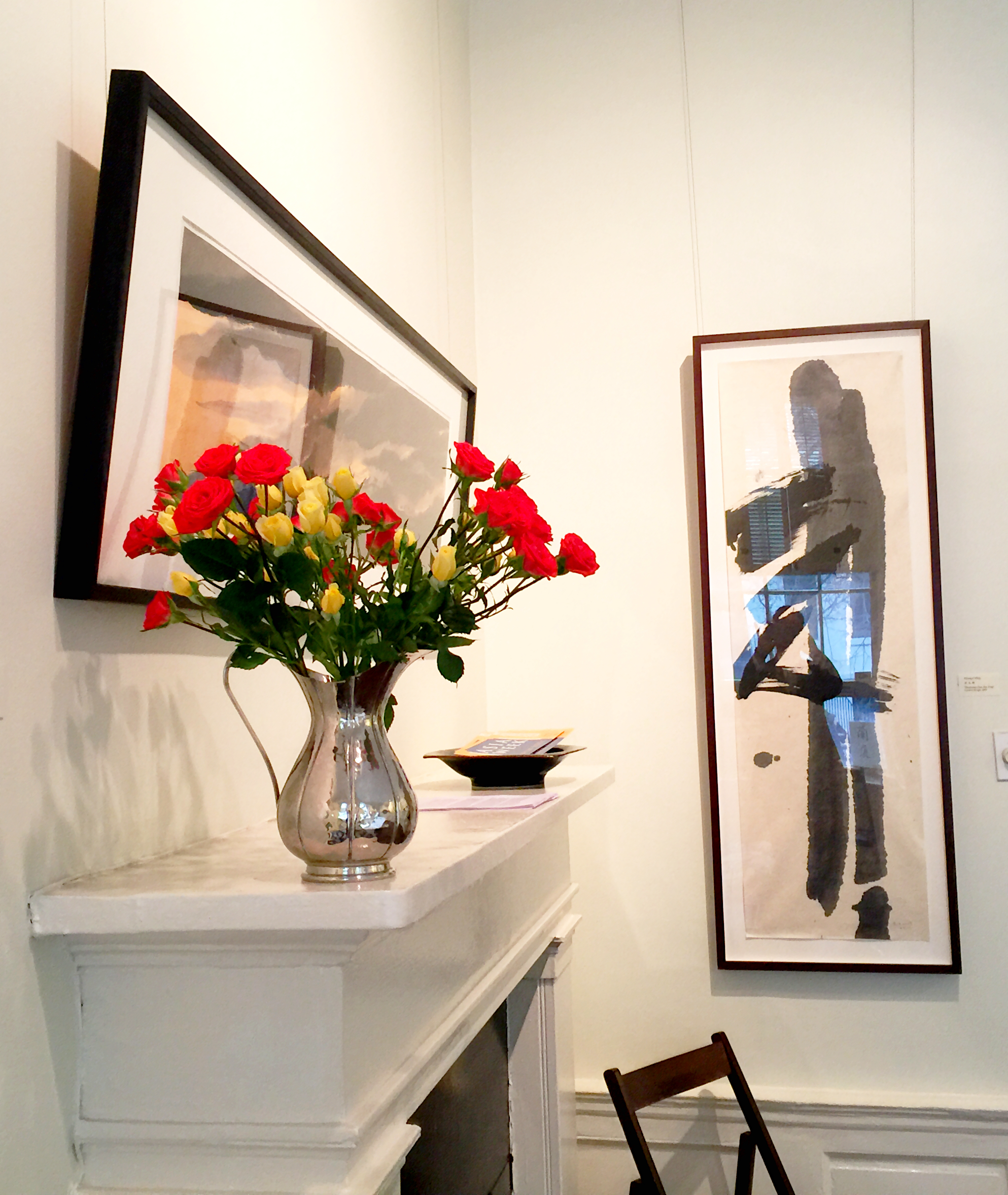 """Opening night reception at """"Contemporary Ink"""""""